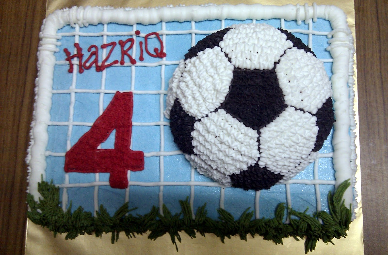 Heavenly Slice By Analiza Another Round Of Soccer Ball Cake