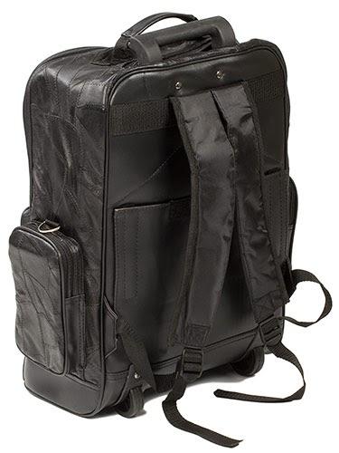 Dakota Leather 18 Quot Pilot Bag Carry On Leather Luggage
