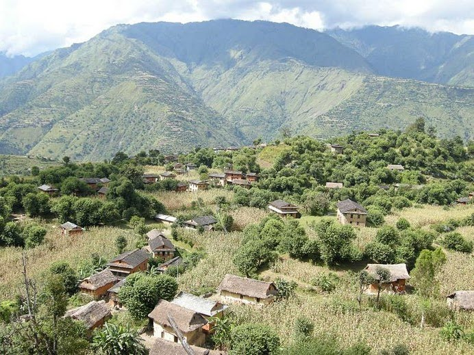 Indian Aid Lights Up Baglung Village Mero Jaljala