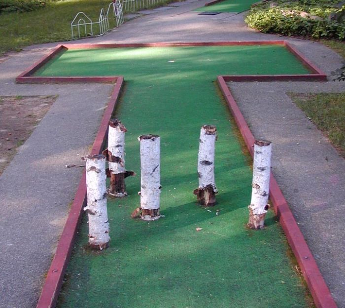Creative Mini Golf Courses Damn Cool Pictures