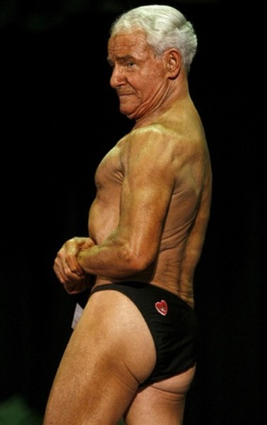 Take a look at the World's Oldest Bodybuilder
