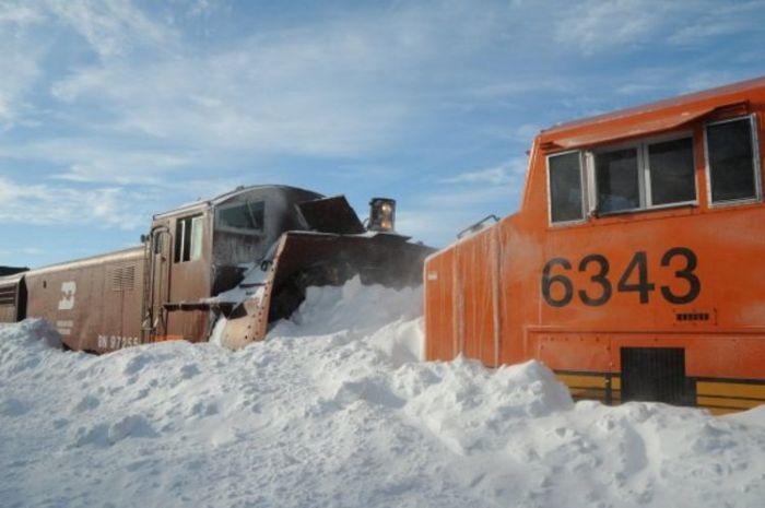 Snowblower Trains