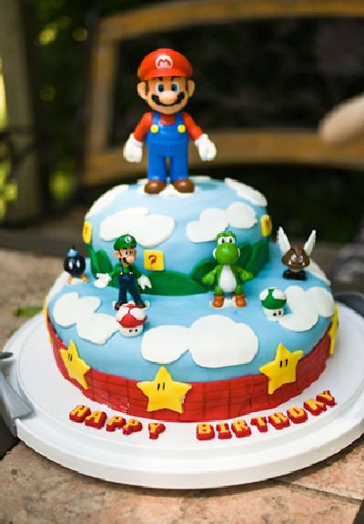 Its All About Fun 50 Awesome Super Mario Cakes