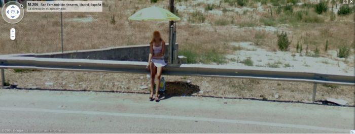prostitute google street view