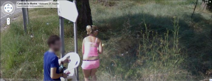google street view madrid prostitute