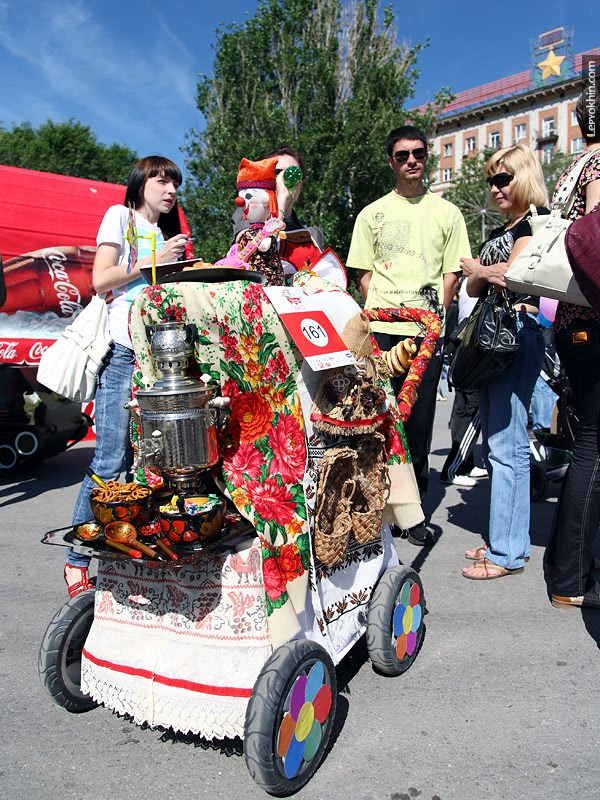 The Stroller Parade In Russia Damn Cool Pictures