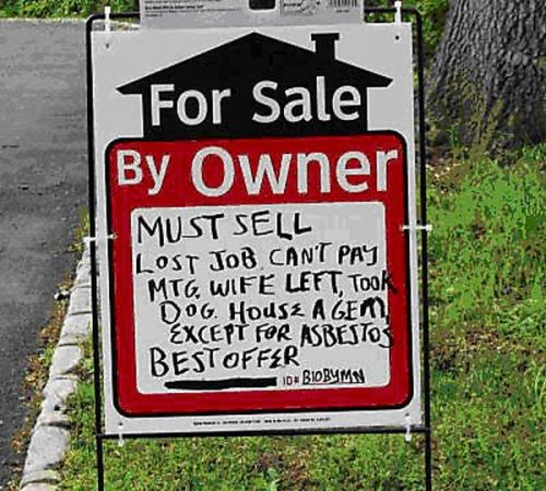 S For Rent: 25 Funniest For Sale Signs Of All Time
