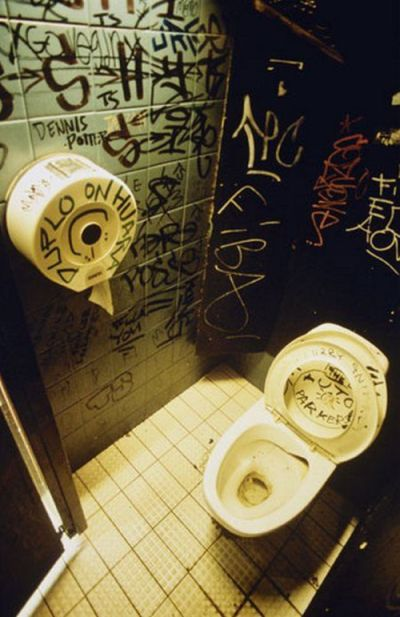Bathroom Graffiti  Damn Cool Pictures