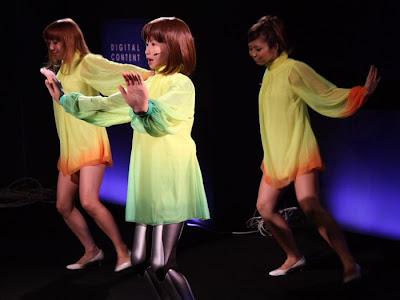 dancing robot girl 10