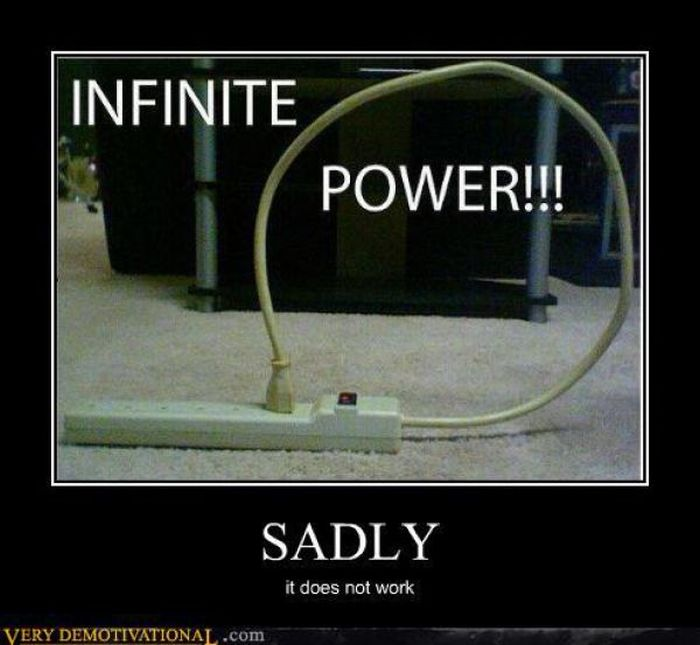 With Great Power Comes Great Electricity Bill. - Jokes be ...  Will Power Jokes