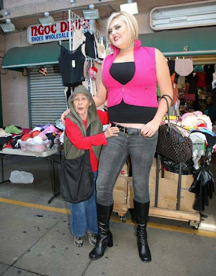 The Tallest Blonde in the  World Seen On www.coolpicturegallery.us