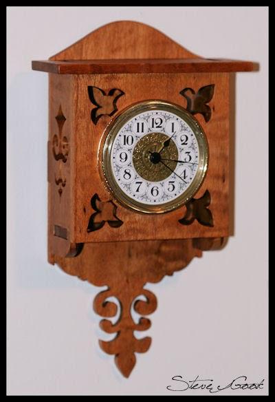 Scrollsaw Workshop Small Wall Clock Scroll Saw Pattern