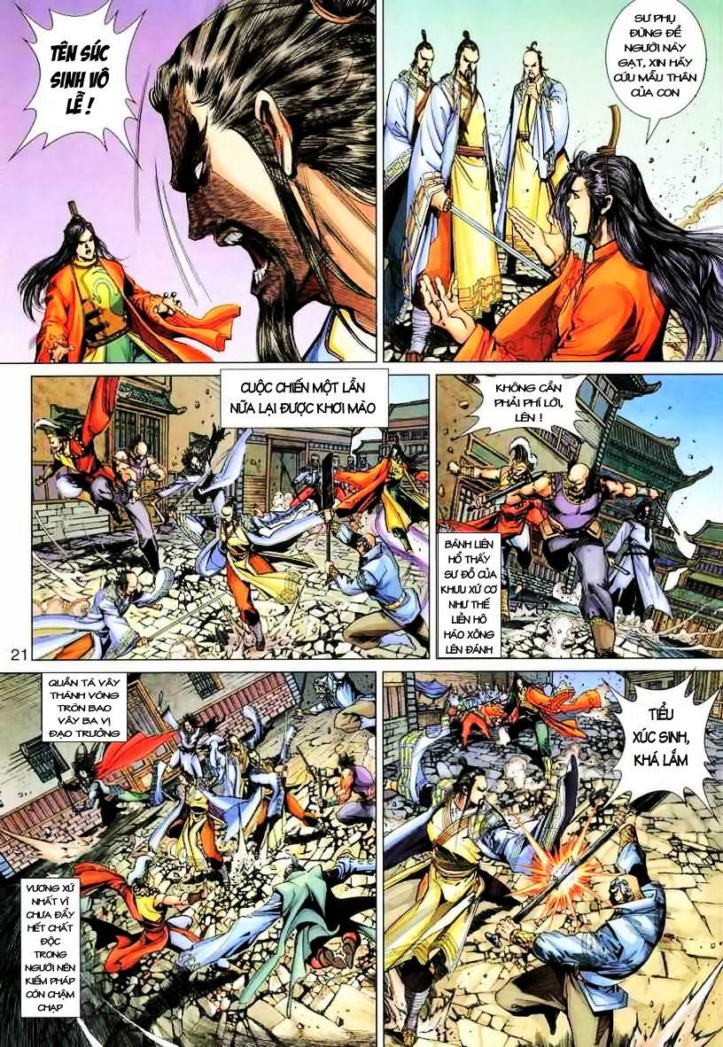 Anh Hùng Xạ Điêu anh hùng xạ đêu chap 19 trang 21