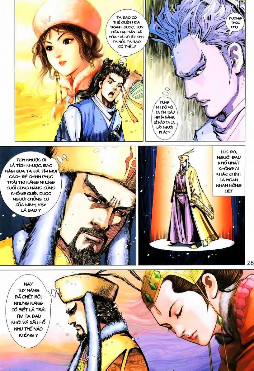 Anh Hùng Xạ Điêu anh hùng xạ đêu chap 19 trang 28