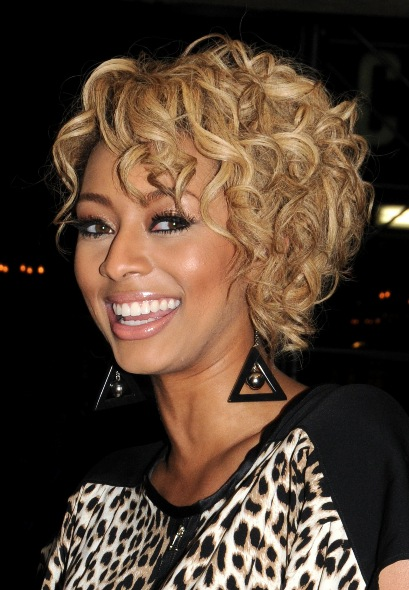 Astonishing Keri Hilson Blonde Hairstyles 2010 Short Hairstyles For Black Women Fulllsitofus