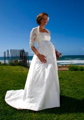 eb6102acb Nuestros bebes  Vestidos de novia para embarazadas 3