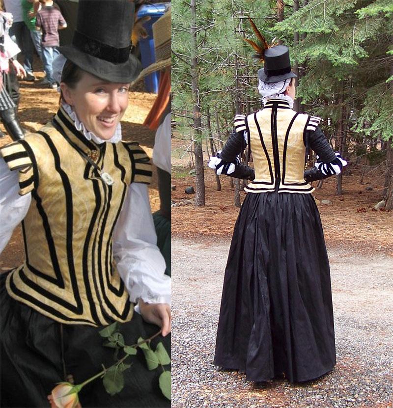 7ffa8ab54f0 The Great Basin Costume Society  16th c. Elizabethan Noble