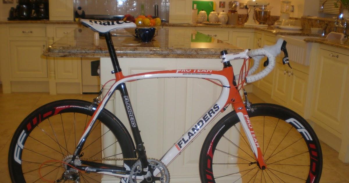 Tom Laker 2011 Race Bike