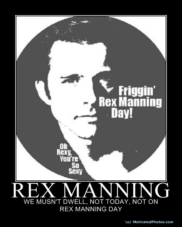 Rex likes to cover his dick in blue cheese? Didn't he watch that old Saturday morning PSA 'Don't Drown Your Junk?'