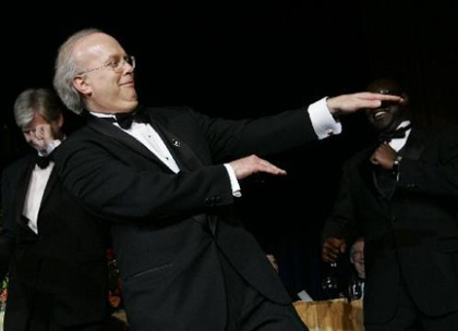Colin Mochrie is a hilarious improvver, but he lost points with me when he encouraged Rove to channel his inner krumper.