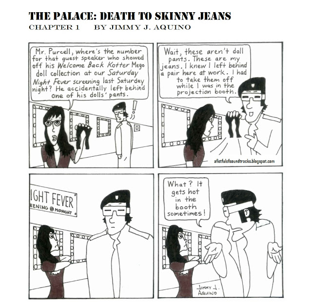 The Palace: Death to Skinny Jeans, Chapter 1 by Jimmy J. Aquino