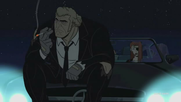 The Venture Bros. was able to afford a Pulp song, but at the cost of decent lighting.