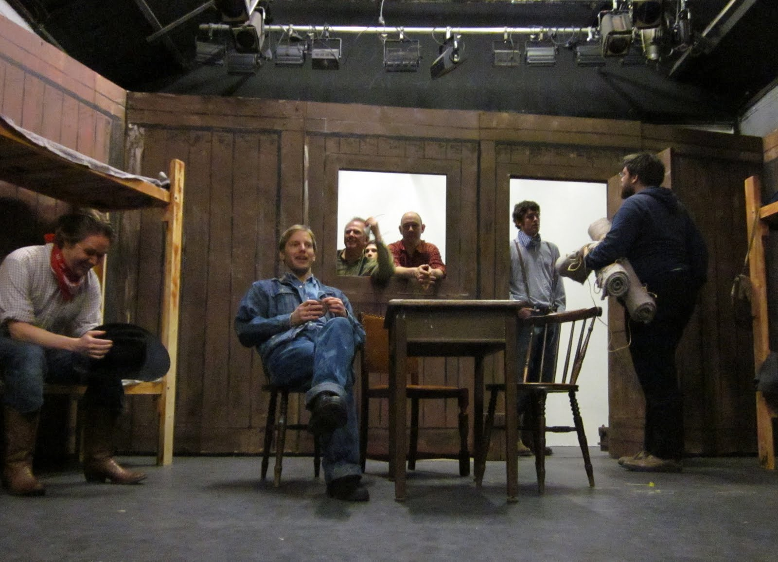 Progress Theatre Of Mice And Men The Finishing Touches