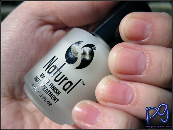 Seche Natural Matte Finish Nail Treatment - Polish Galore