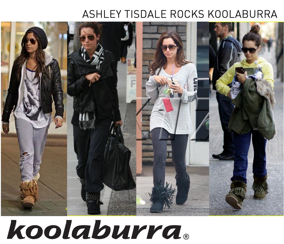 ddf8026a303 blog for images indonesia: Ashley Tisdale Rocks Koolaburra Boots
