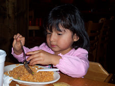 A nice plate of Spanish Rice... Yummy!