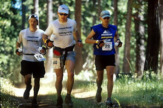 c4743a7ca3d1e The 2002 Western States. Montrail Teammates (l to r)Jim Kerby