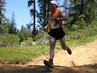 f26bb83a5e8cc David Terry tackles the heat at one of the hottest Western States (2006) on  record.