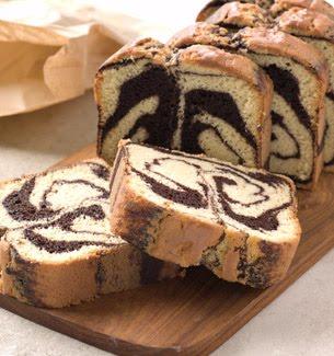 Chocolate And Vanilla Swirl Pound Cake