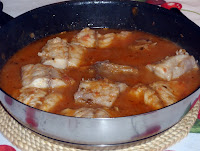 chicharro o jurel en salsa