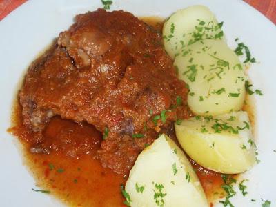 rabo de ternera en salsa