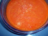 sofrito de tomate, cebolla y pimiento