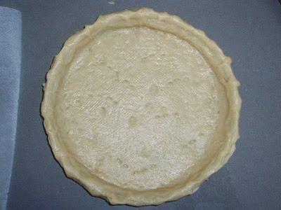 tartaleta casera para tarta de calabaza