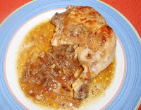 pollo al estilo de Oliva
