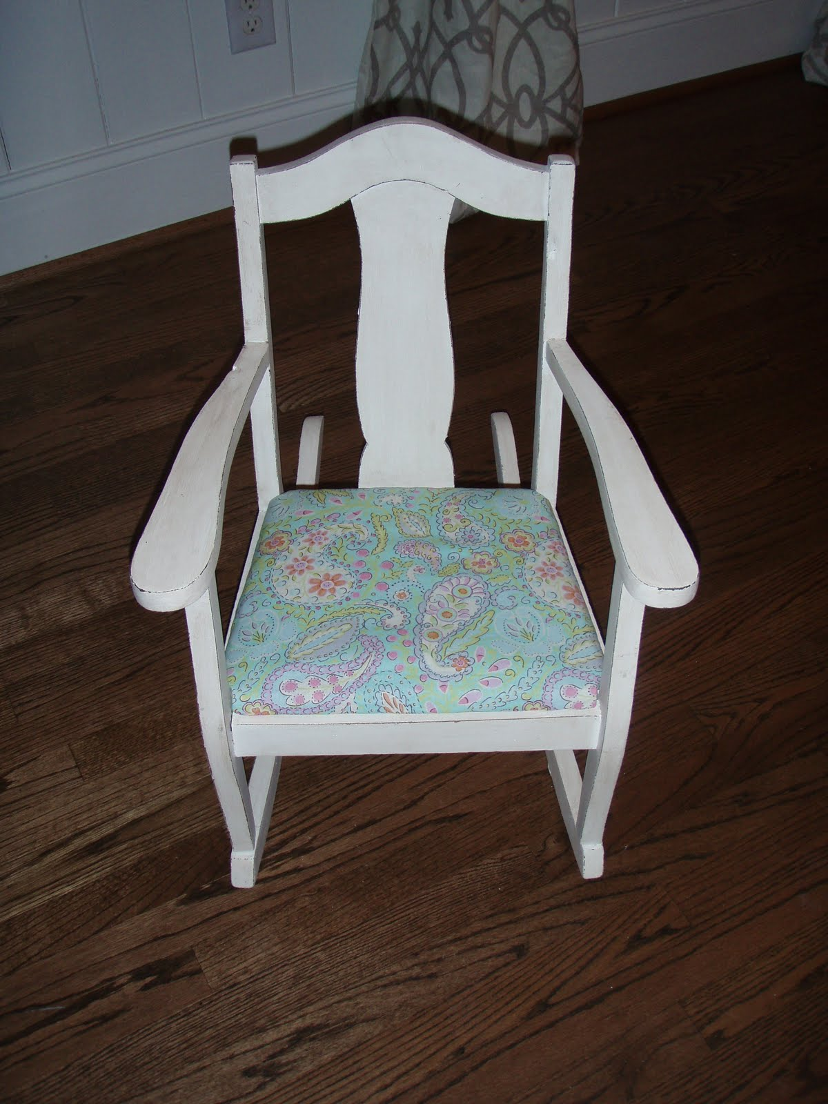 Little Girl Rocking Chair Covers For Wedding Sale Farm Chick Paints Girls