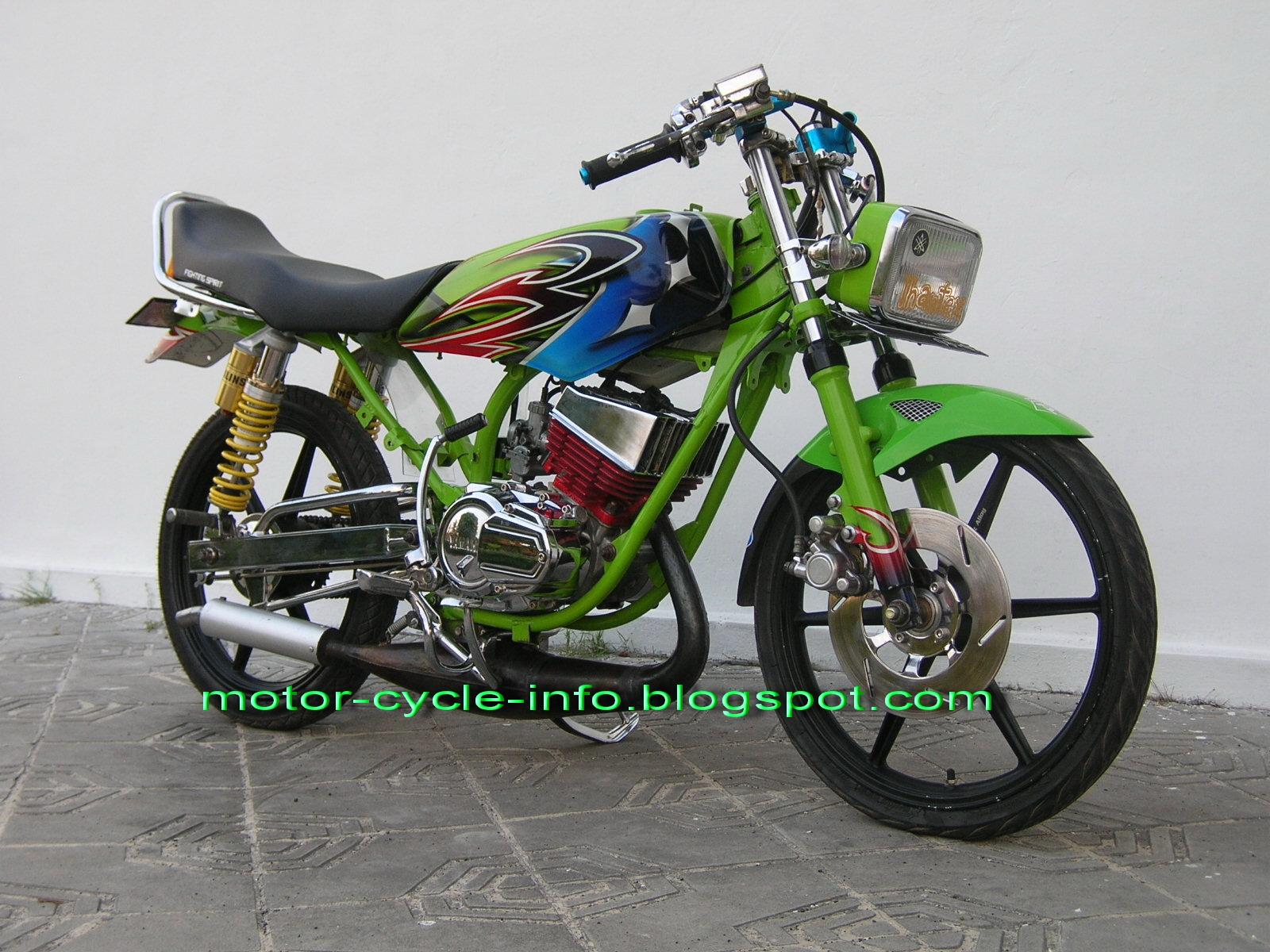 Foto Modif Yamaha Xeon Modifikasi Motor Yamaha