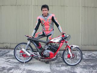 modifikasi motor yamaha motor rxz