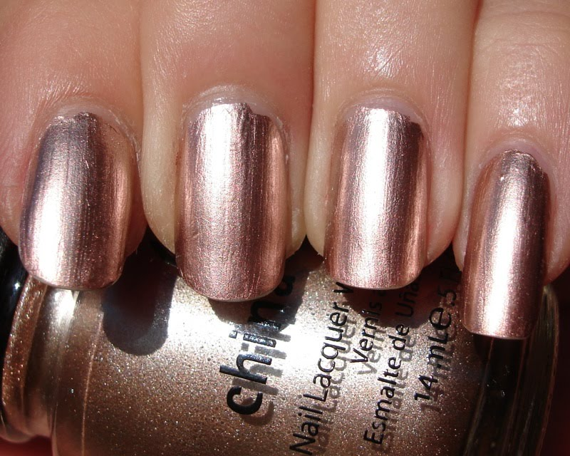 Rose Gold Nail Polish China Glaze - AccessoryWiz