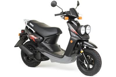 2009 Yamaha BWs 50 Scooter Motorcycle - Twin Wheels