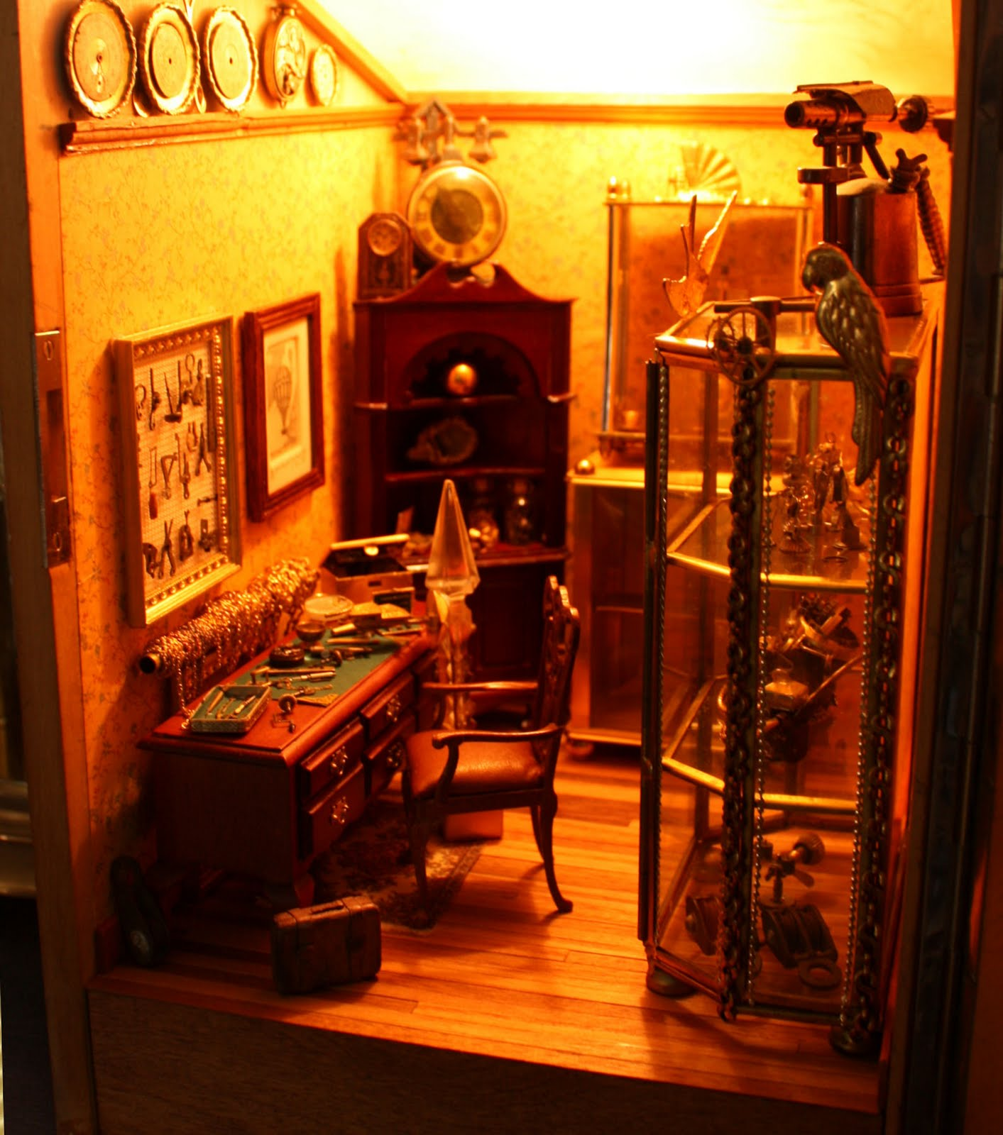 Steampunk Room Ideas Jdayminis 1 12 And 1 48 Scale Minis Freebies And Inspiration