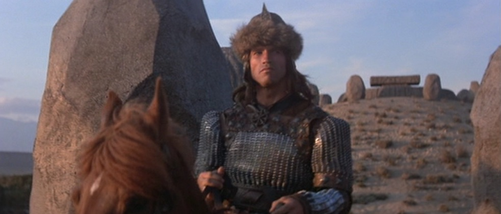 Conan the destroyer cast then and now