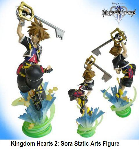 Aniplay Figurine: Kingdom Hearts 2 Sora Static Arts Figure