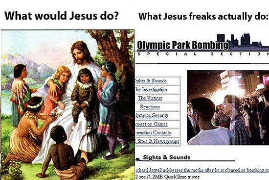What Would Jesus Do vs What Jesus Freaks Actually Do  mdolla