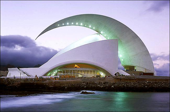 Auditorio de Tenerife - Planear tu viaje a Tenerife
