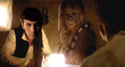 Spock As Han Solo
