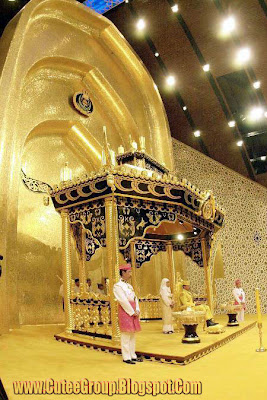 Pure Gold's Palace of Sultan Brunei